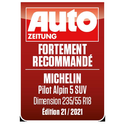 2021 Pilot Alpin 5 SUV Autozeitung tres recommande FR