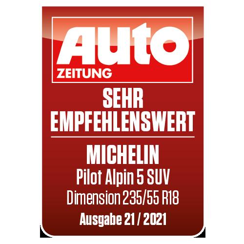2021 Pilot Alpin 5 SUV Autozeitung sehr empfehlenswert