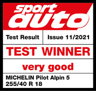 MICHELIN PILOT ALPIN 5 | Sport Auto