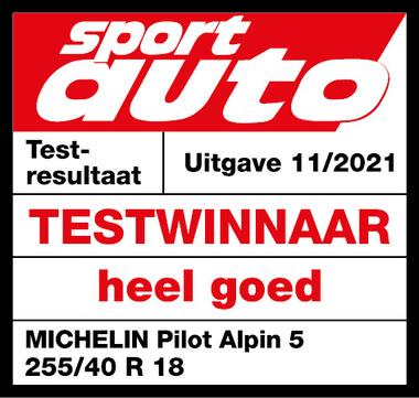MICHELIN PILOT ALPIN 5   Sport Auto
