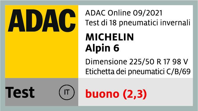 MICHELIN ALPIN 6 | ADAC