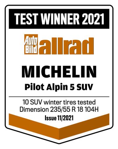 MICHELIN PILOT ALPIN 5 SUV | AutoBild Allrad