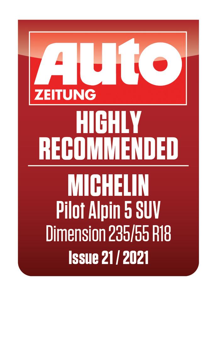 MICHELIN PILOT ALPIN 5 SUV   AutoZeitung
