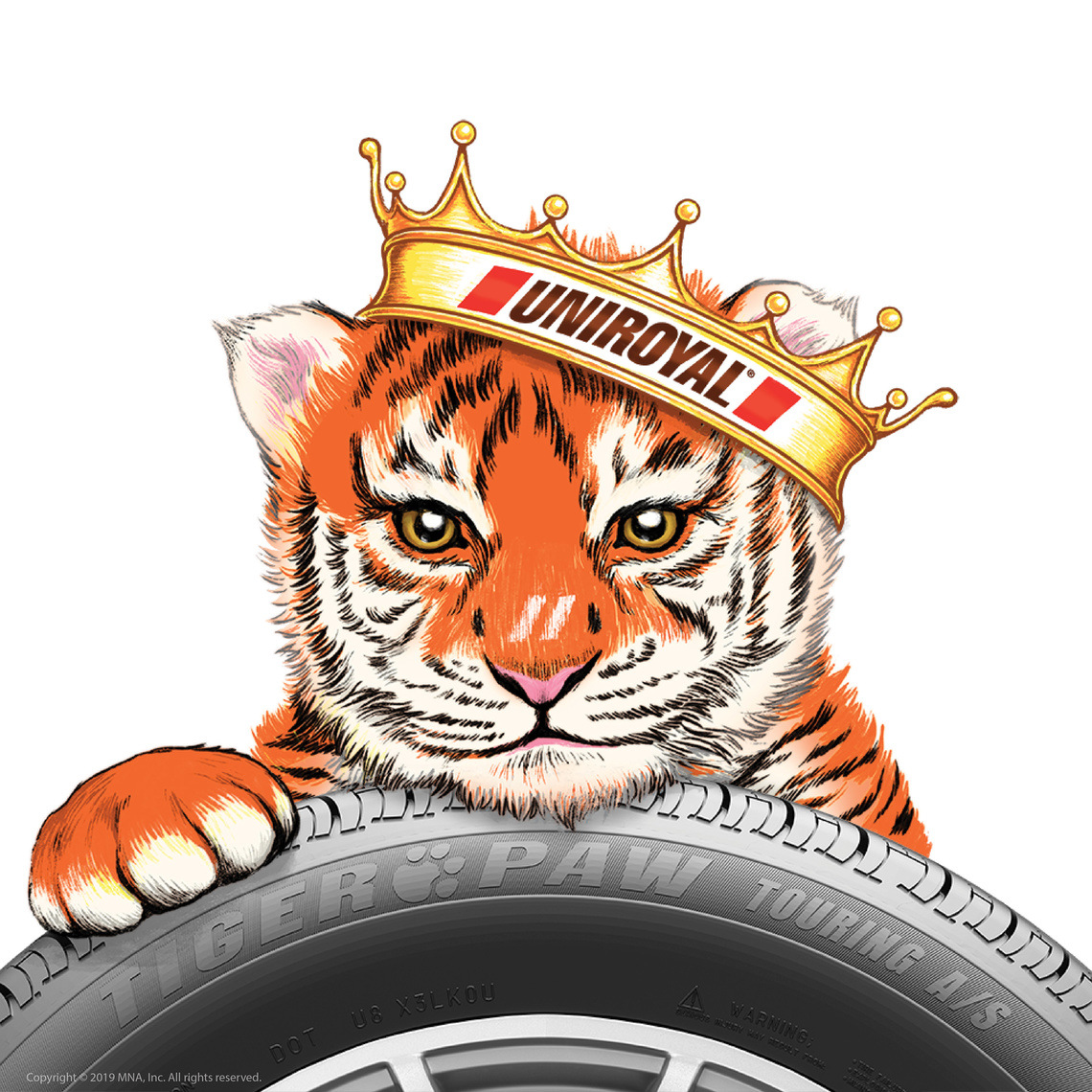 royal with tire